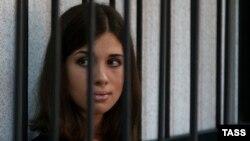 Участница группы Pussy Riot Надежда Толоконникова