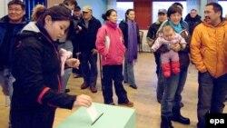 Гласањето на претходните избори во Гренланд