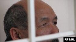 Ishenbai Kadyrbekov on trial last year