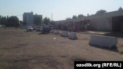 Ўзбекистондаги энг йирик Сирғали машина бозорининг рейддан кейинги кўриниши.