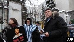 Барыс Нямцоў і Беларусь