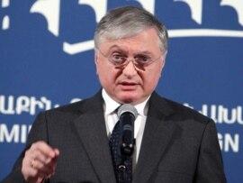Armenian Foreign Minister Eduard Nalbandian