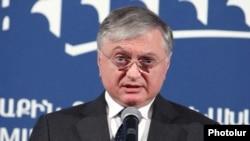 Министр иностранных дел Армении Эдвард Налбандян.