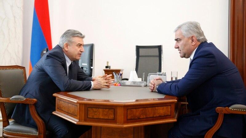 Կարեն Կարապետյանը և Սամվել Կարապետյանը քննարկել են Հայաստանում իրականացվող ներդրումային ծրագրերը