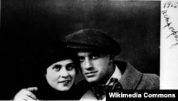 Mayakovski və Lilya Brik