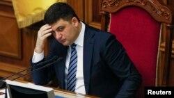 Претседателот на украинскиот парламент Володимир Хројсман