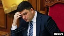 Cпикер парламента Украины Владимир Гройсман.