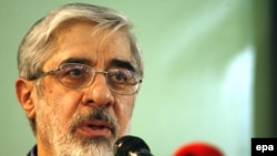 Mir Hossein Musavi is a former prime minister, but doesn't enjoy Mohammad Khatami's prominence in Iranian society.