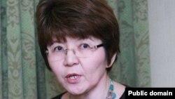 Ekonomıst Merýert Mahmutova.