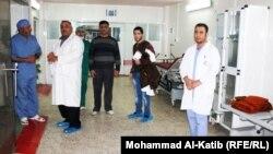 في احد مستشفيات الموصل