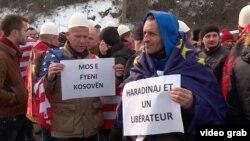 Arkiv: Protesta e organizuar në Francë për lirimin e Ramush Haradinajt