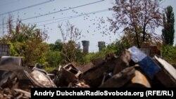 Зруйноване селище Південне, що під Горлівкою, 17 липня 2018 року