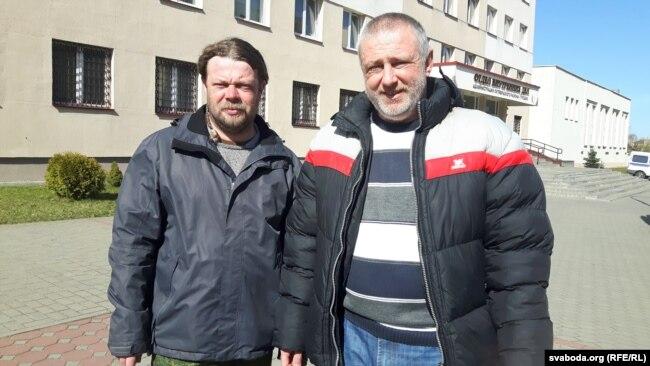 Вадзім Саранчукоў і Ежы Грыгенча