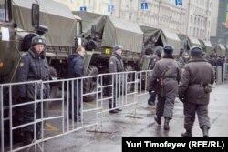 Policija u Moskvi 10. decembra