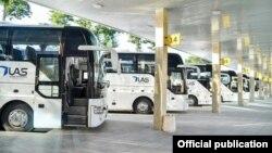 """""""Тошкент"""" автовокзалидан қатнайдиган автобуслар"""