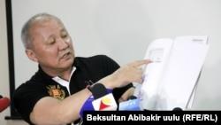 Экс-мэр Бишкека Нариман Тюлеев.