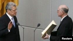 Joachim Gauck polaže predsjedničku zakletvu, 23. mart 2012.