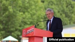 Парламентарни избори 2020 - Претседателот на ДУИ, Али Ахмети во предизборна кампања