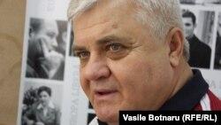 Anatol Țăranu în studioul Europei Libere