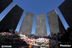 """Yerevanda """"soyqırım abidəsi"""""""