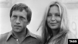 Vladimir Vysotsky and his wife, the French actress Marina Vlady.