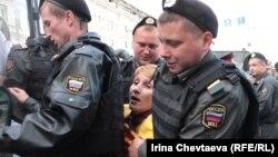 Москва, Триумфальная площадь, 31 мая 2012 г.