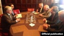 Հայաստանի ԱԳ նախարարի հանդիպումը Մինսկի խմբի համանախագահների հետ Նյու Յորքում, 23-ը սեպտեմբերի, 2014թ.