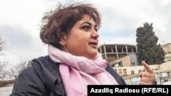 Журналистка Азербайджанской редакции Азаттыка Хадиджа Исмаилова.