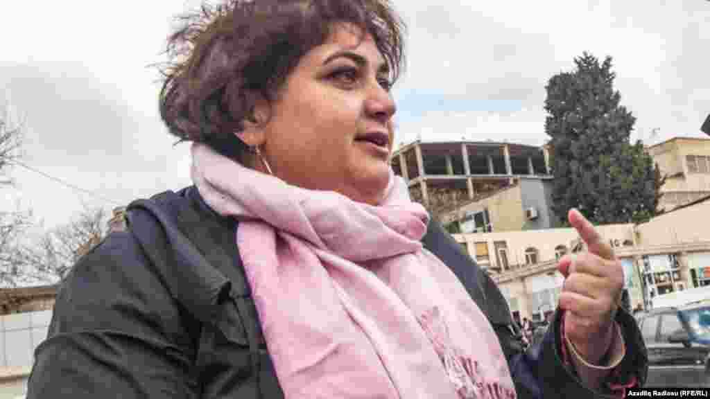 Арестованная азербайджанскими властями внештатная сотрудница РС Хадиджа Исмайлова