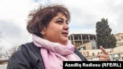 Azerbaijan -- Baku. RFERL journalist Khadija Ismayil and her lawyer Elton Guliyev