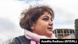 Азербайджанская журналистка Хадиджа Исмаилова.