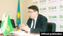 Бывший председатель ЕНПФ Казахстана Руслан Ерденаев.