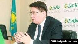 Руслан Ерденаев, БЖЗҚ-ның бұрынғы басқарма төрағасы. Сурет БЖЗҚ-ның ресми сайтынан алынды.