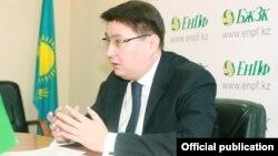 Руслан Ерденаев, БЖЗҚ-ның бұрынғы басқарма төрағасы.