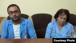 Armenia - The remaining two medics released by opposition gunmen on 31 July 2016