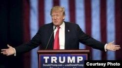 ABŞ-nyň prezindeti Donald Tramp
