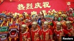 Пекін святкує перемогу, 31 липня 2015 року