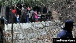Грузинські біженці з Абхазії та Південної Осетії покидають тимчасовий притулок