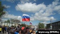 Парад до 70-ї річниці Перемоги у Сімферополі, 9 травня 2015 року