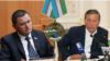 Главы Ферганской и Андижанской областей Узбекистана Шухрат Ганиев (слева) и Шухрат Абдурахманов.