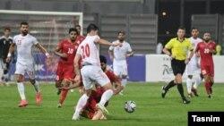 تاکتیک بحرین در نیمه نخست، آفسایدگیری بود که بارها مهاجمان ایران در این تله گرفتار شدند.