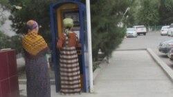Türkmenistanyň bankomatlarynda nagt ýetmezçilik edýär