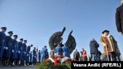 Spomenik žrtvama logora na Starom Sajmištu u Beogradu