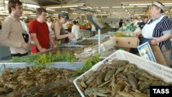 Tržnica u Moskvi