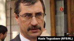 Евгений Жовтис, правозащитник. Алматы, 26 марта 2013 года.