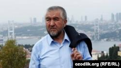 63-летний писатель-диссидент Нурилло Отаханов (Нуруллох Мухаммад Рауфхон).