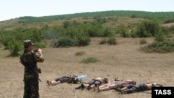 Authorities in Daghestan claimed these men were militants killed in June.