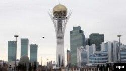 Казакстандын баш калаасы Астана шаары, 22-март, 2013-жыл.