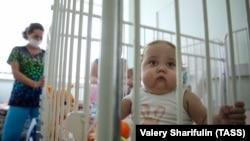 Дети, дожидающиеся трансплантации в Шумаковском центре