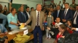 Erdogan's Rivals Vote In Turkey's Elections